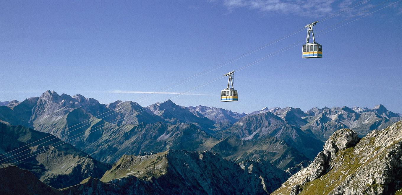 Bergbahntickets inklusive